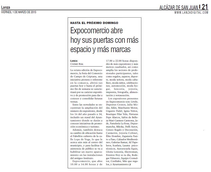 Expocomercio